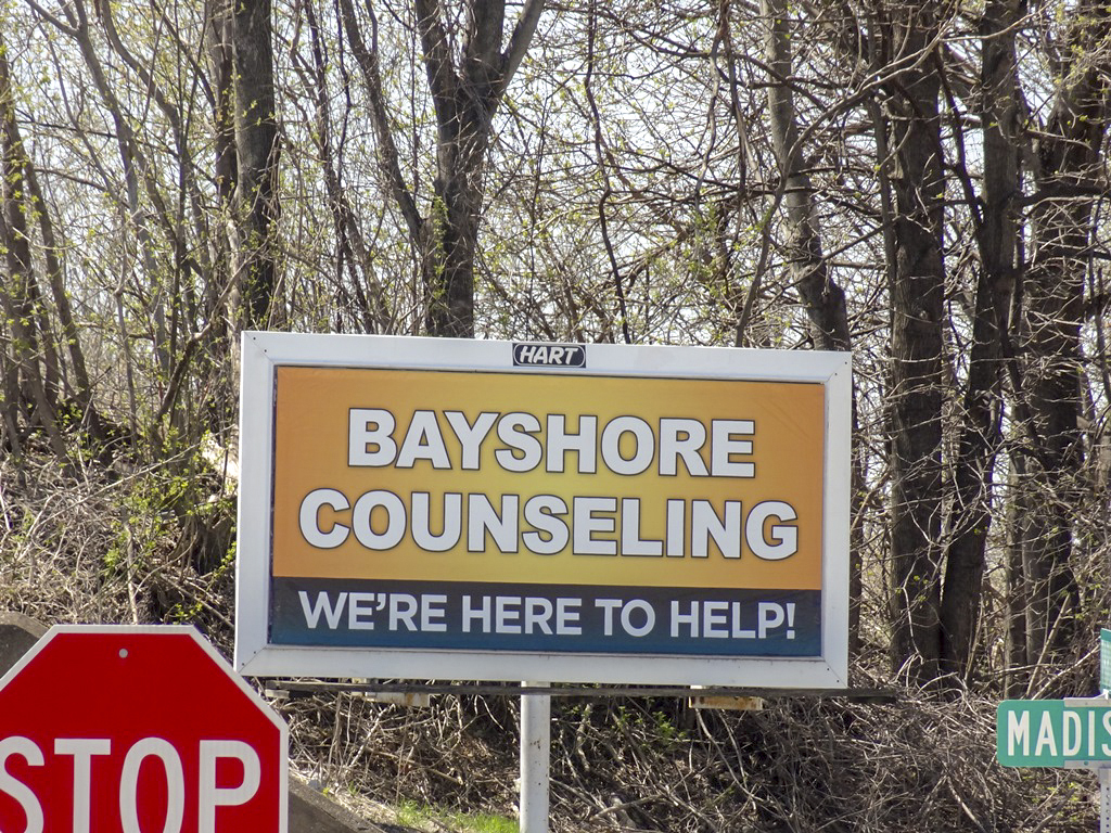 image of a general branding ad for Bayshore Counseling