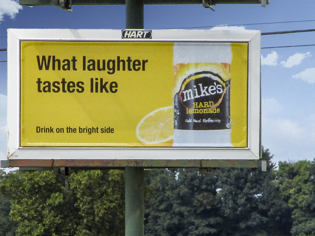 image of Mike's Hard Lemonade campaign