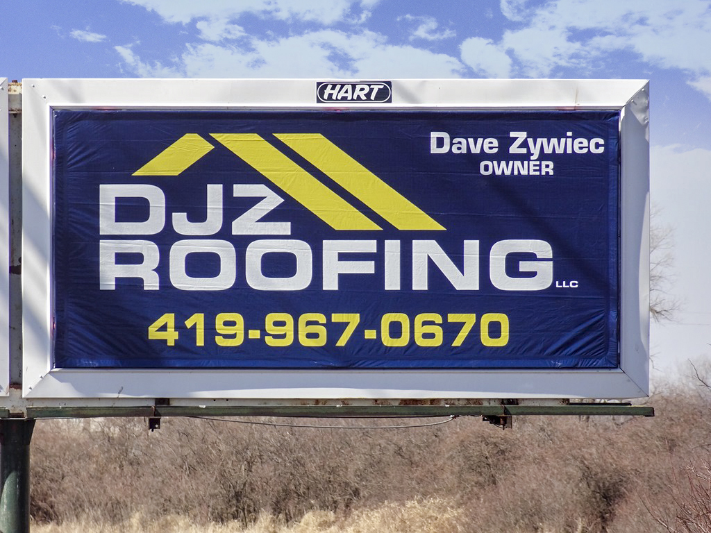 image of a general ad for DJZ Roofing
