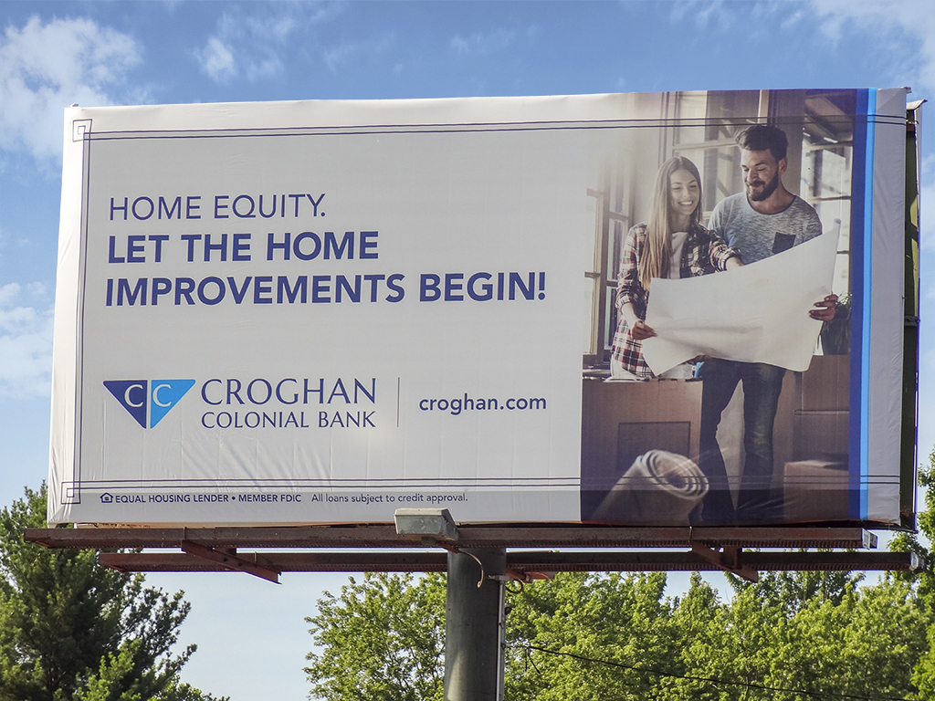 image of Croghan Colonial Bank advertising home equity