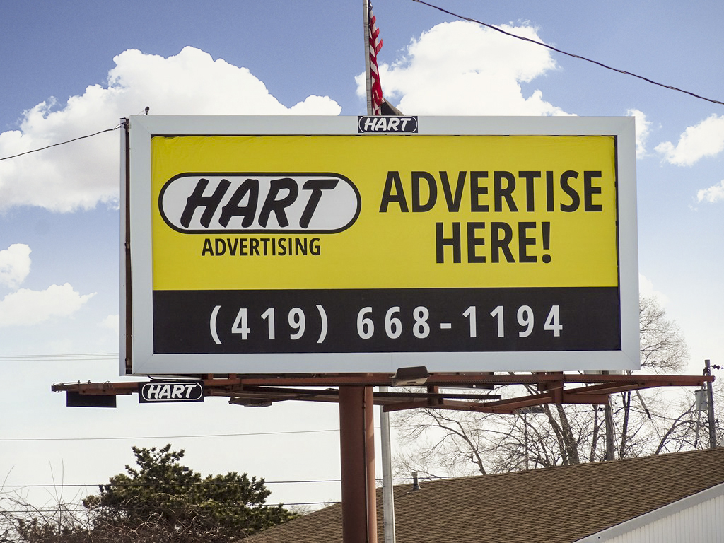 image of a self-promotion for Hart Advertising