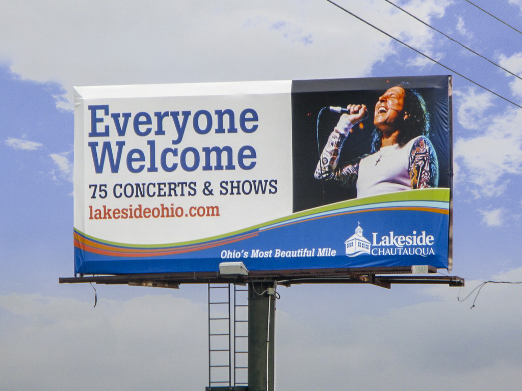 image of Lakeside Chautauqua promoting their concerts & shows