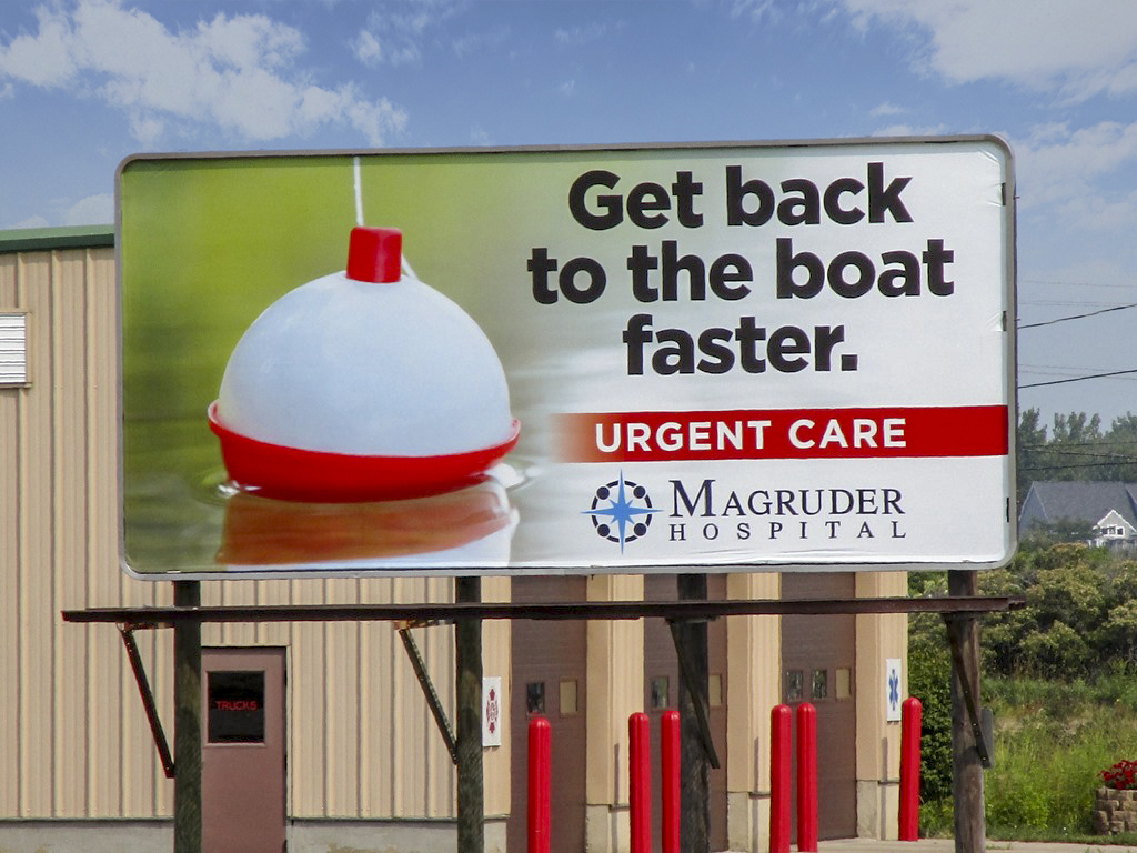 image of Magruder Hospital's poster campaign