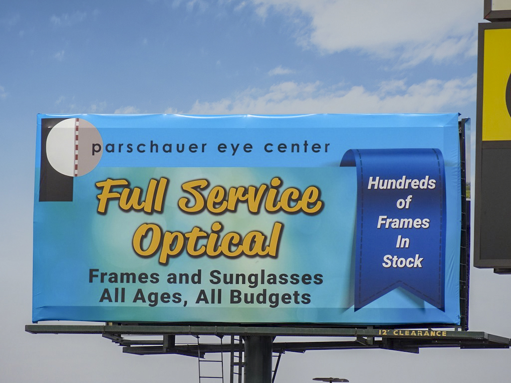 image of Parsschauer Eye Care promoting their frames