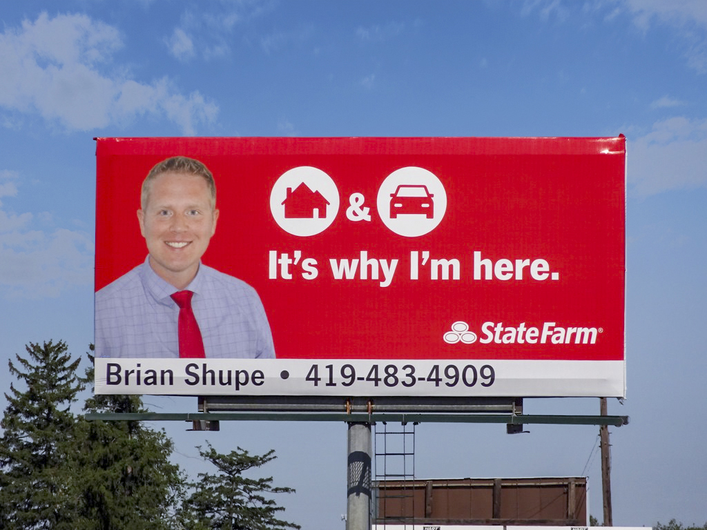 image of State Farm advertising Agent Brian Shupe